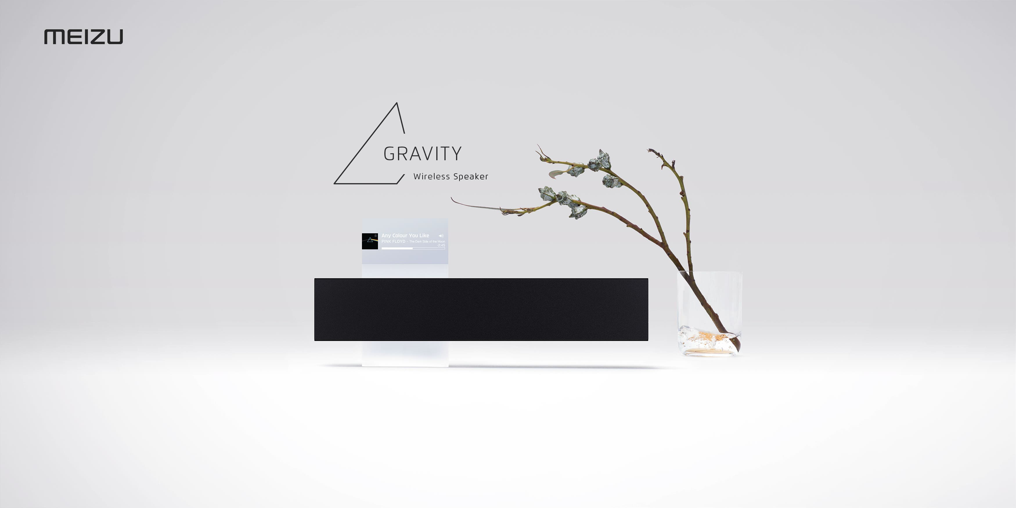 Gravity speaker