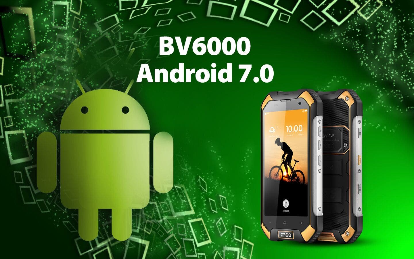 Blackview BV6000 Android 7.0 Nougat