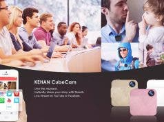 CubeCam Wearable Camera