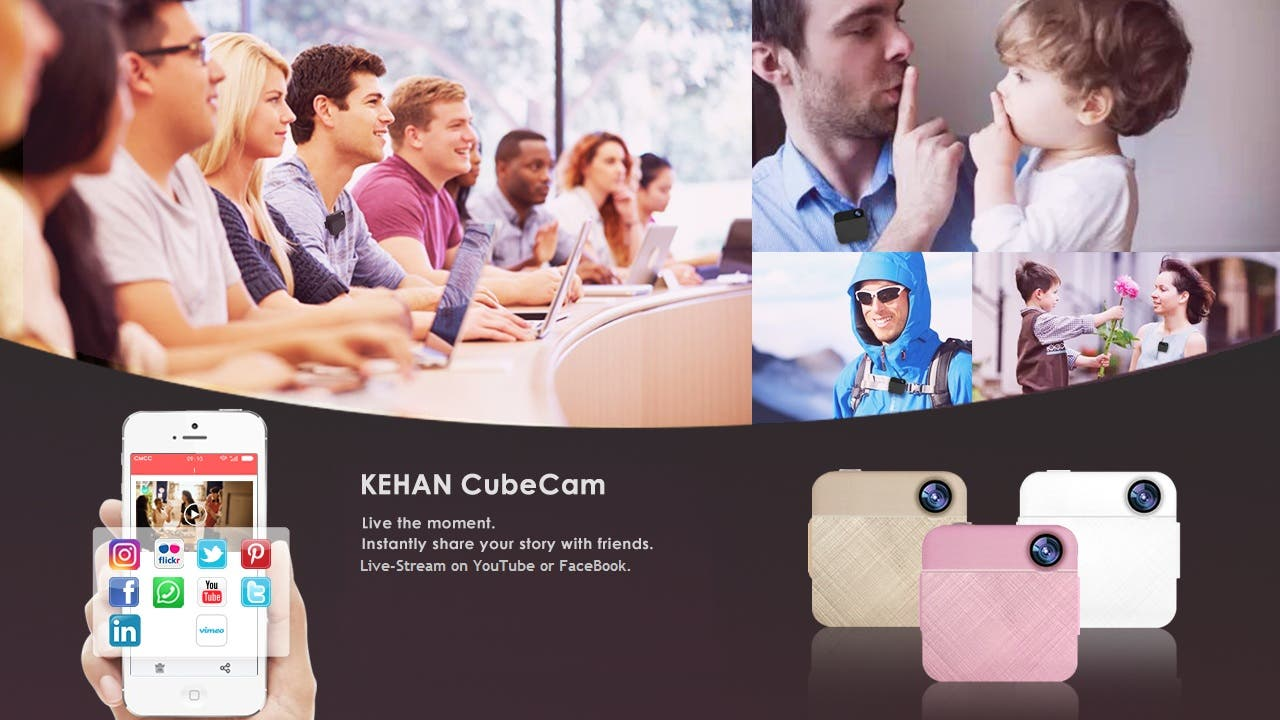 CubeCam Wearable Camera