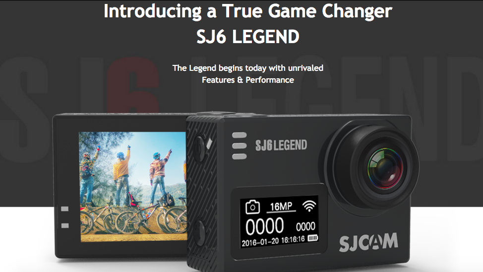 sj cam sj6000 legend
