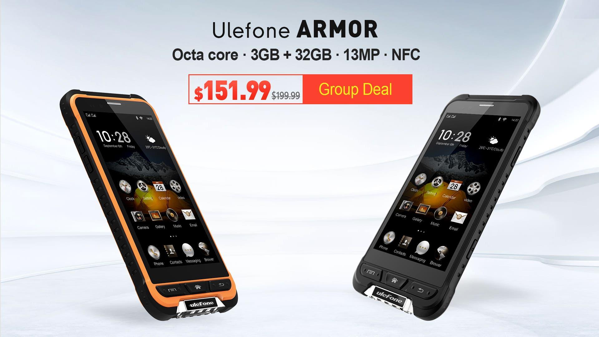 Ulefone Armor Group Deal