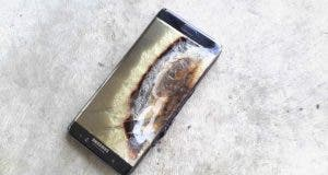 Exploded Galaxy Note 7