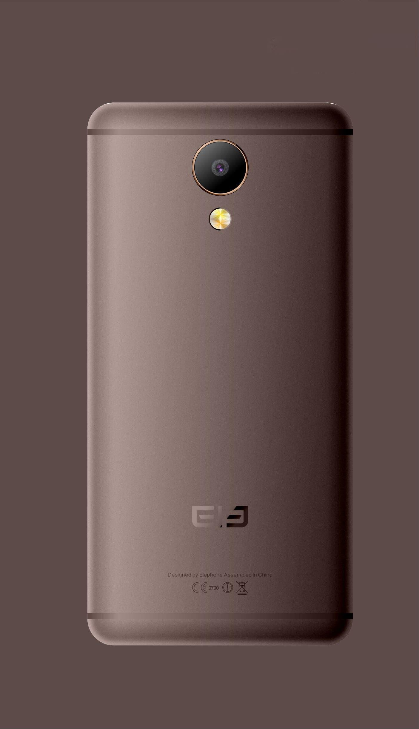 Elephone P25 Mocha Gold