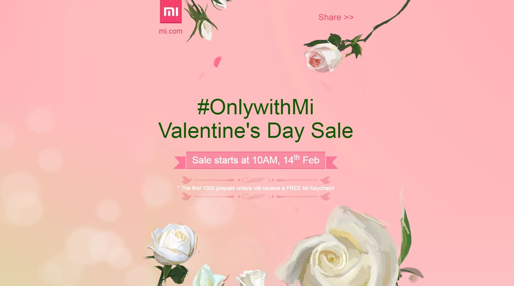 Valentine's Day Mi India