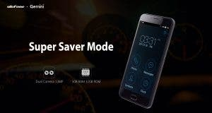 Ulefone Gemini super saver mode