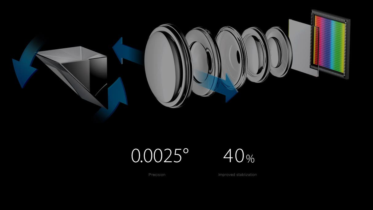 OPPO 5x optical zoom optical image stabilisation