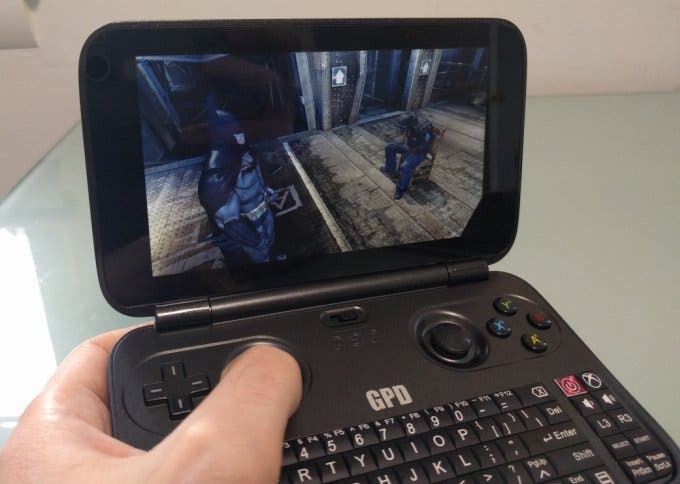 pocket laptop gpd win gaming console at coupon. Black Bedroom Furniture Sets. Home Design Ideas
