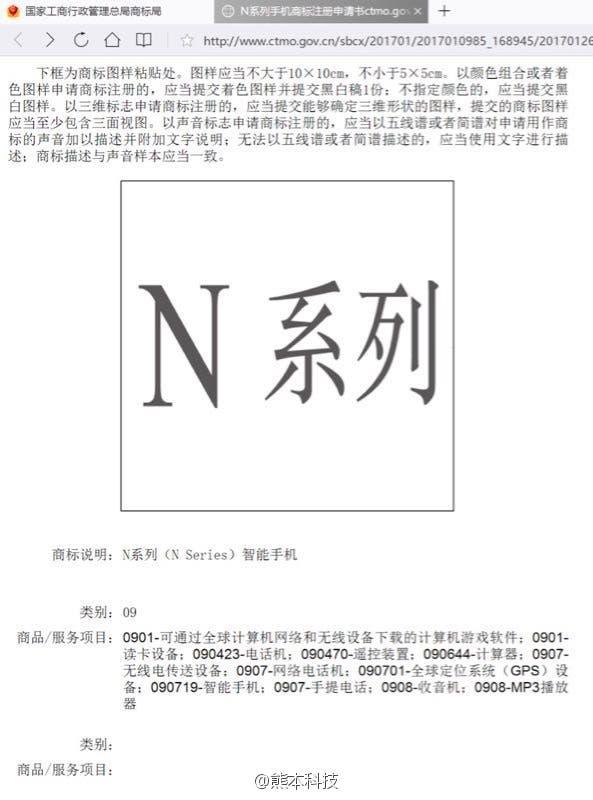 n series