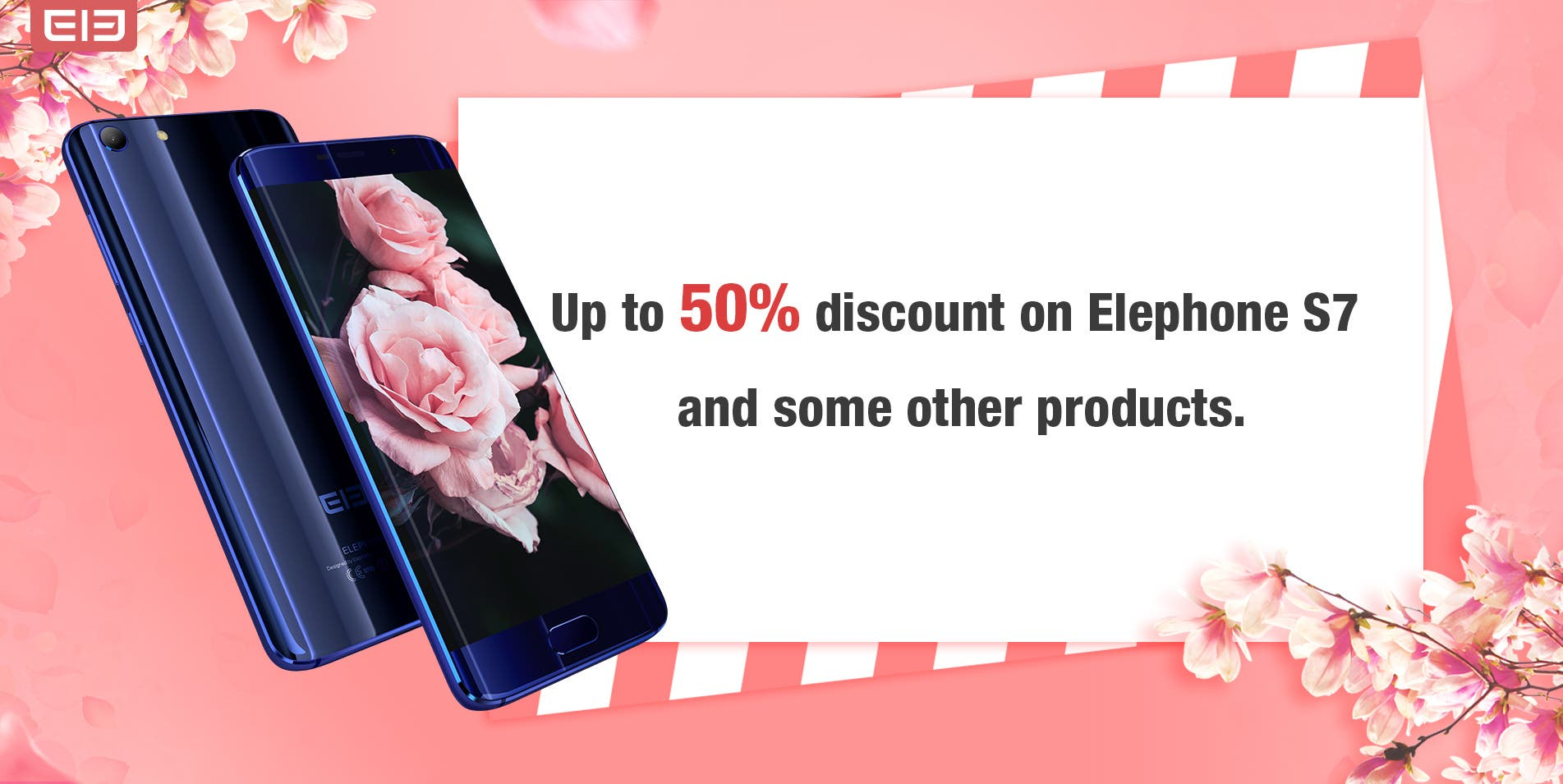 Elephone Women's Day promo