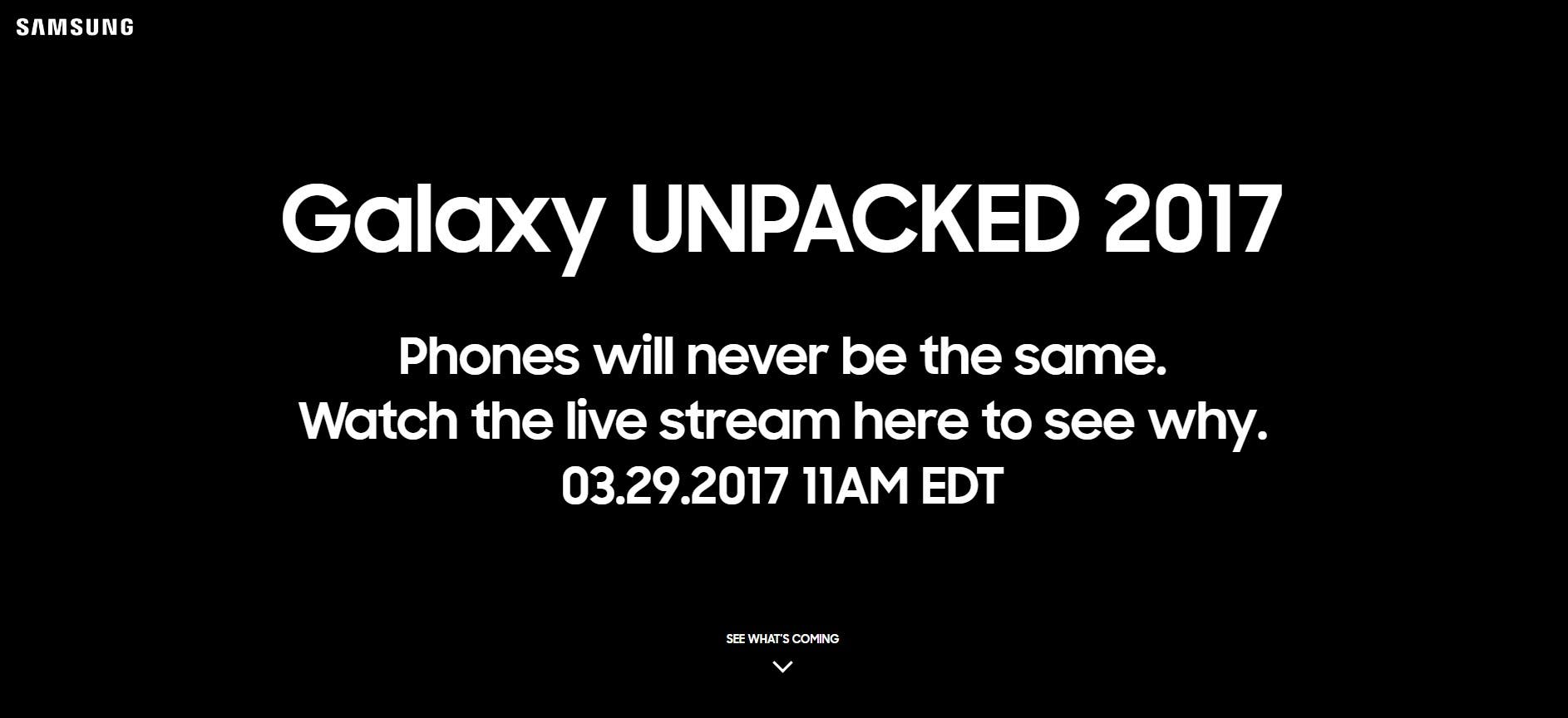 Samsung Galaxy S8 / S8 Plus Live Event