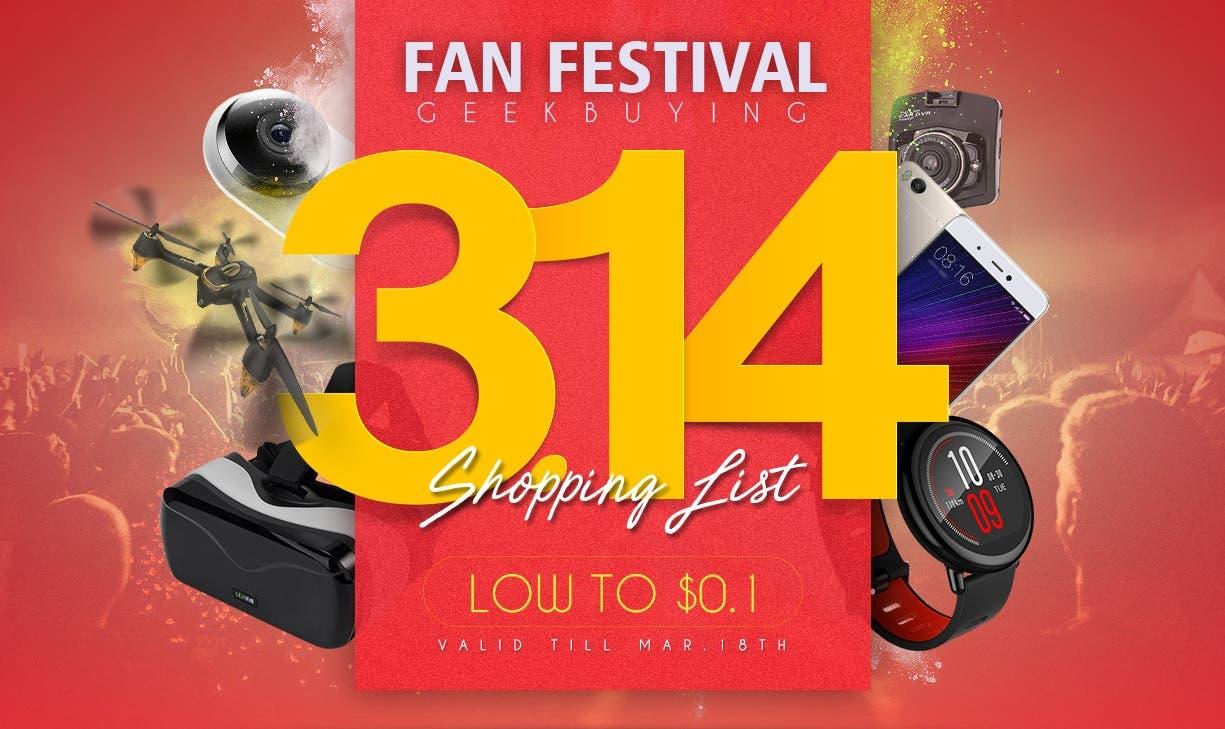 Geekbuying Fan Festival