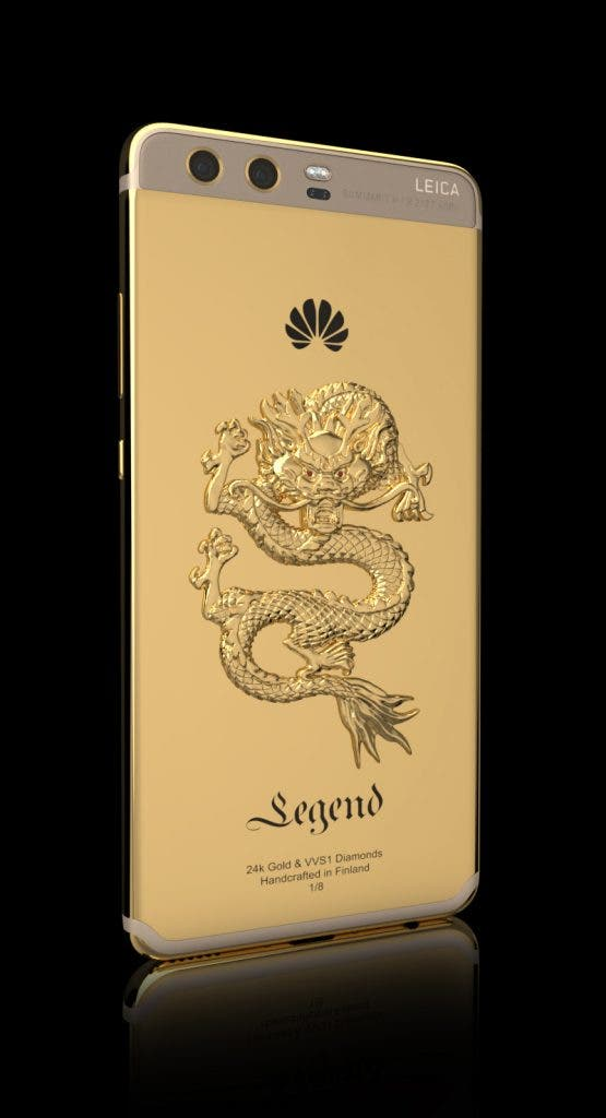 "Huawei P10 Plus Limited Edition: Legend Releases ""Limited Edition"" 24k Gold Plated Huawei"