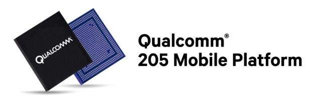 Qualcomm 205 mobile platform