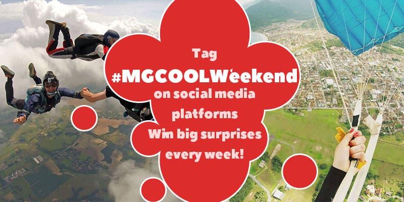 MGCOOL #MGCOOLWeekend