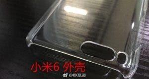 xiaomi mi6 case leaked