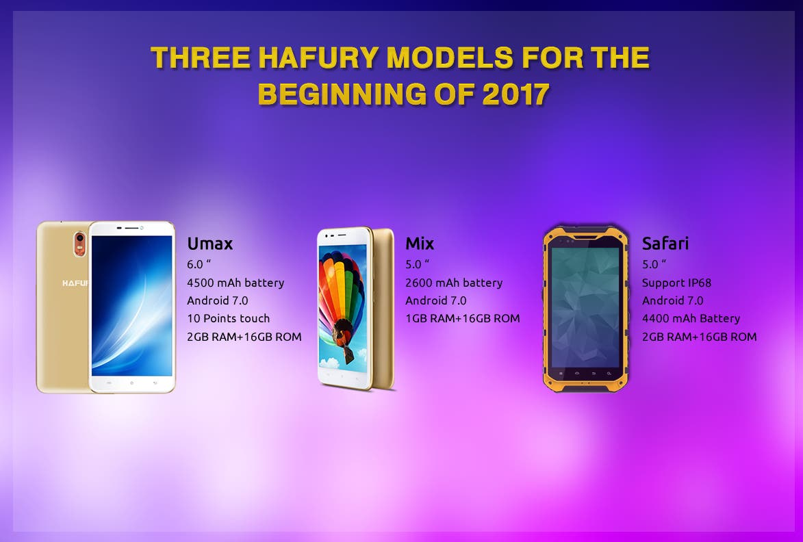 Hafury phones 2017