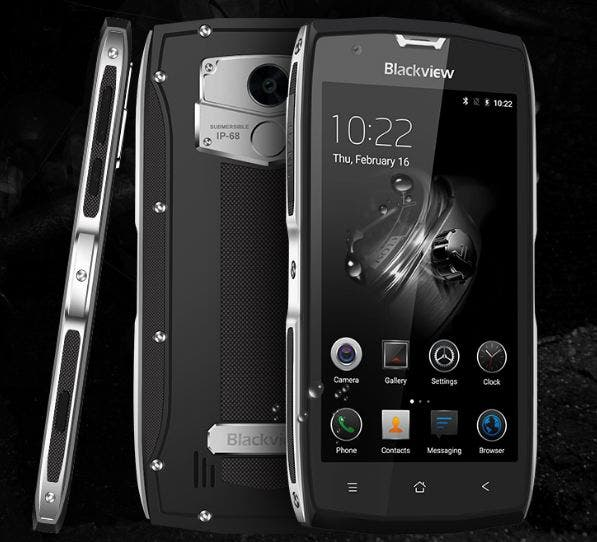Discount Coupon For The Fancy Rugged Blackview Bv7000 Pro