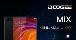 doogee mix dual camera