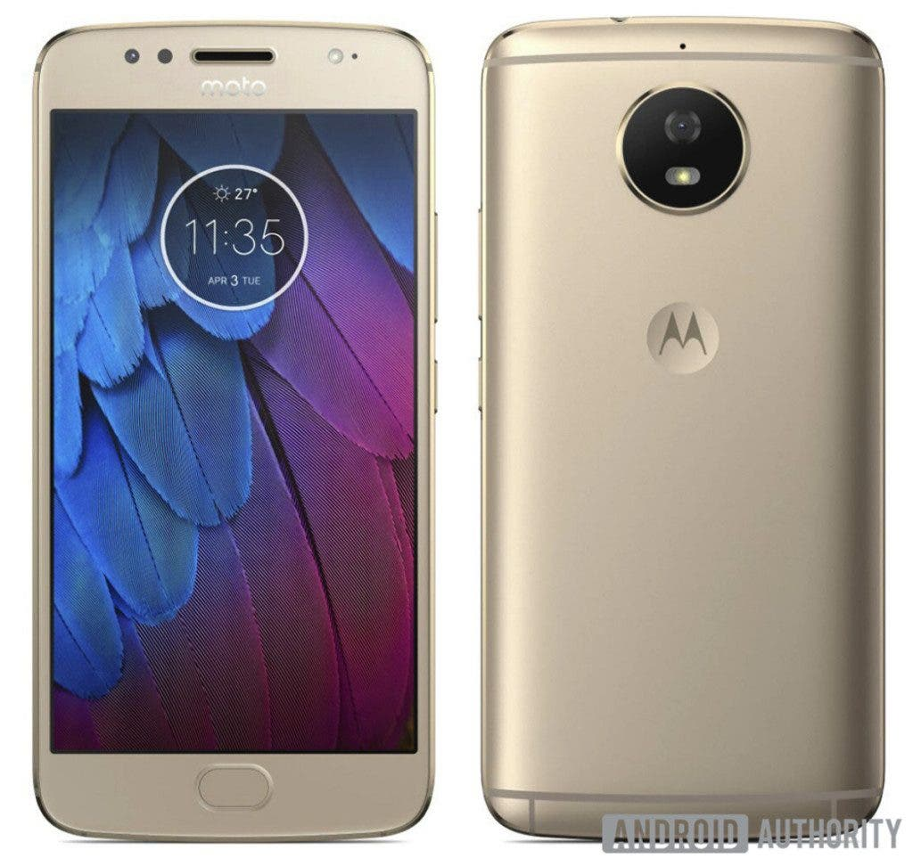 Moto G5S Images Leaked