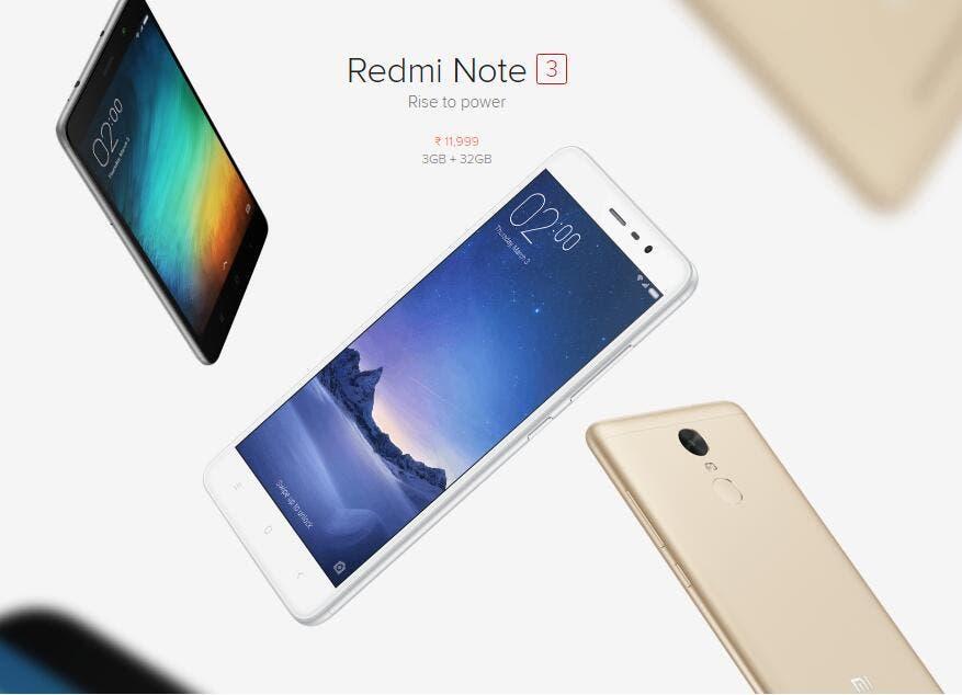 Xiaomi redmi note 3 pro marshmallow