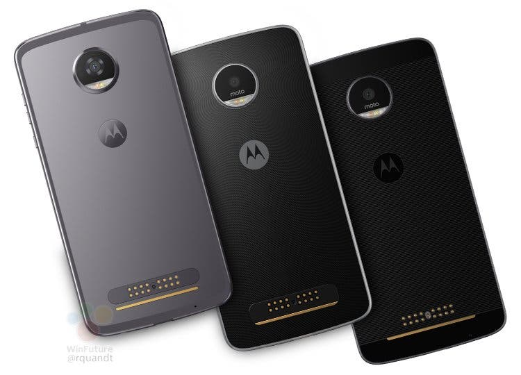 Moto Z2 Force and Z2 Play images leak - again!