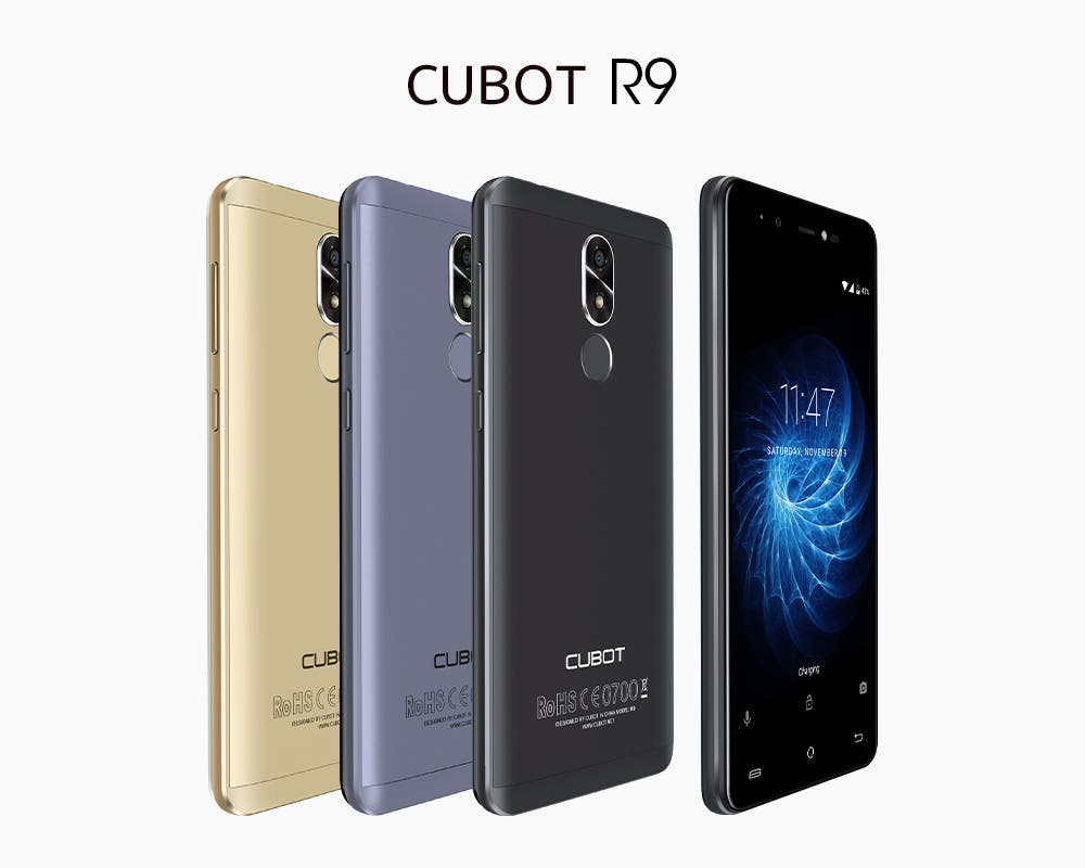 Cubot R9 will be Available in Three Colors - Coming this ...