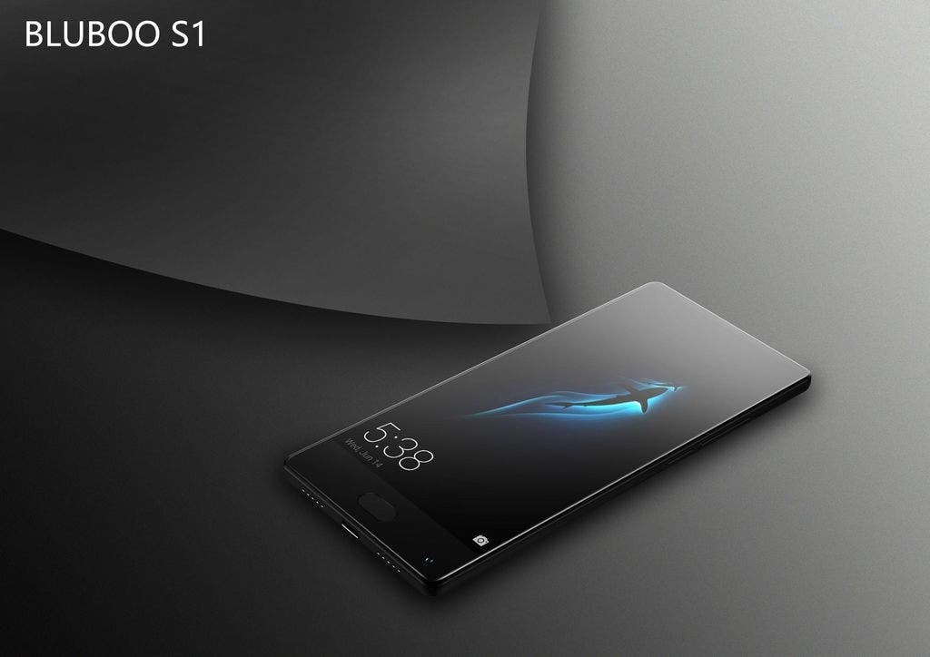 New Pictures Of The Bezel Less Bluboo S1 Released Gizchina Com