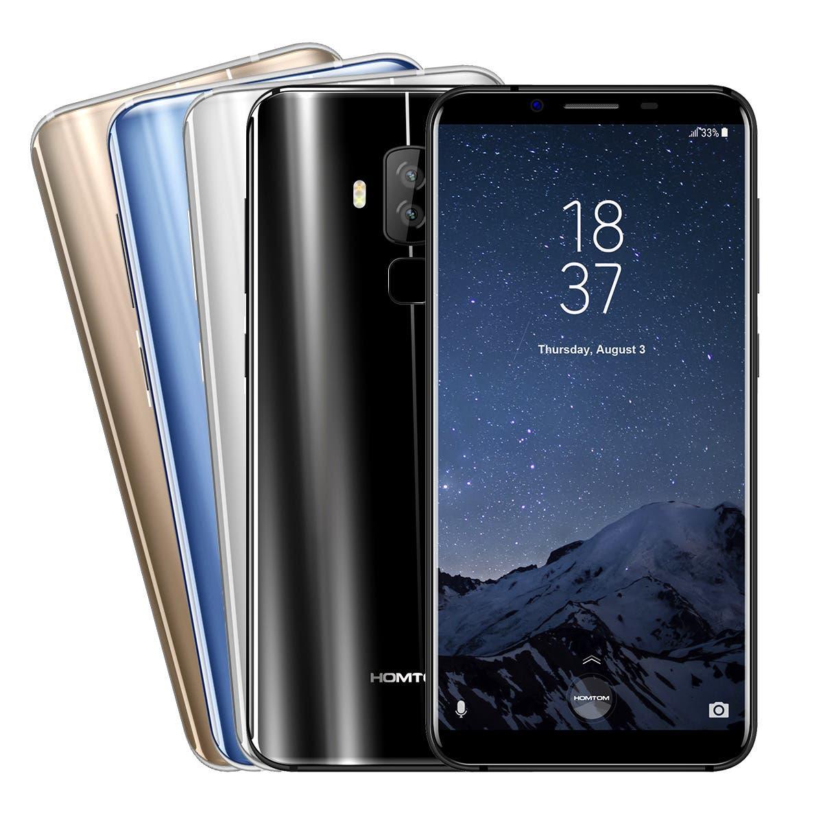 گوشی موبایل Homtom s8