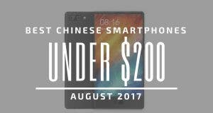 Best Chinese Smartphones Under $200