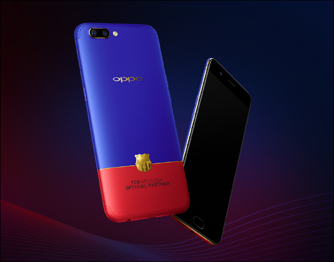 Oppo R11 FC Barcelona edition now up for grabs at 3499 ...