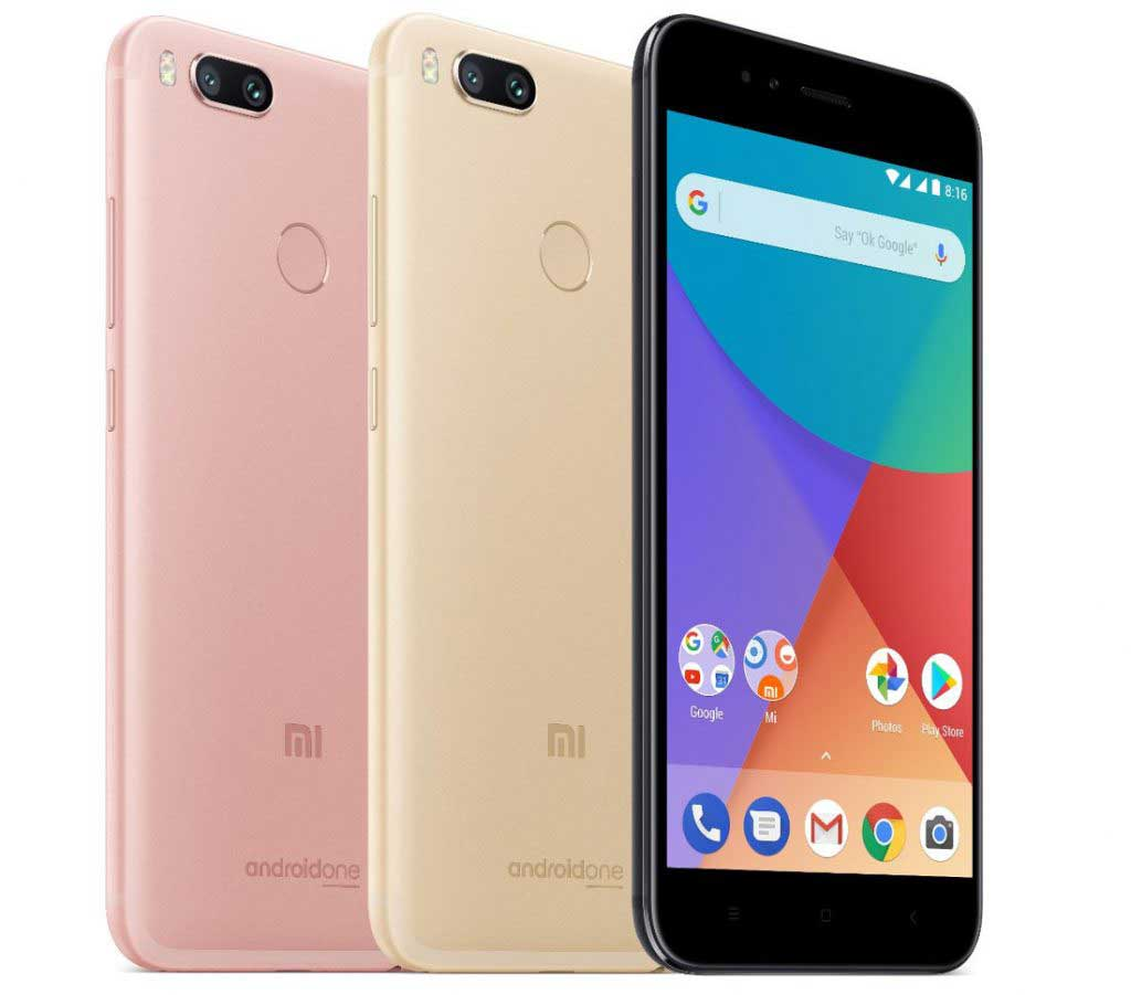 Wanna Grab The Official Xiaomi Mi A1 Wallpapers Go For It