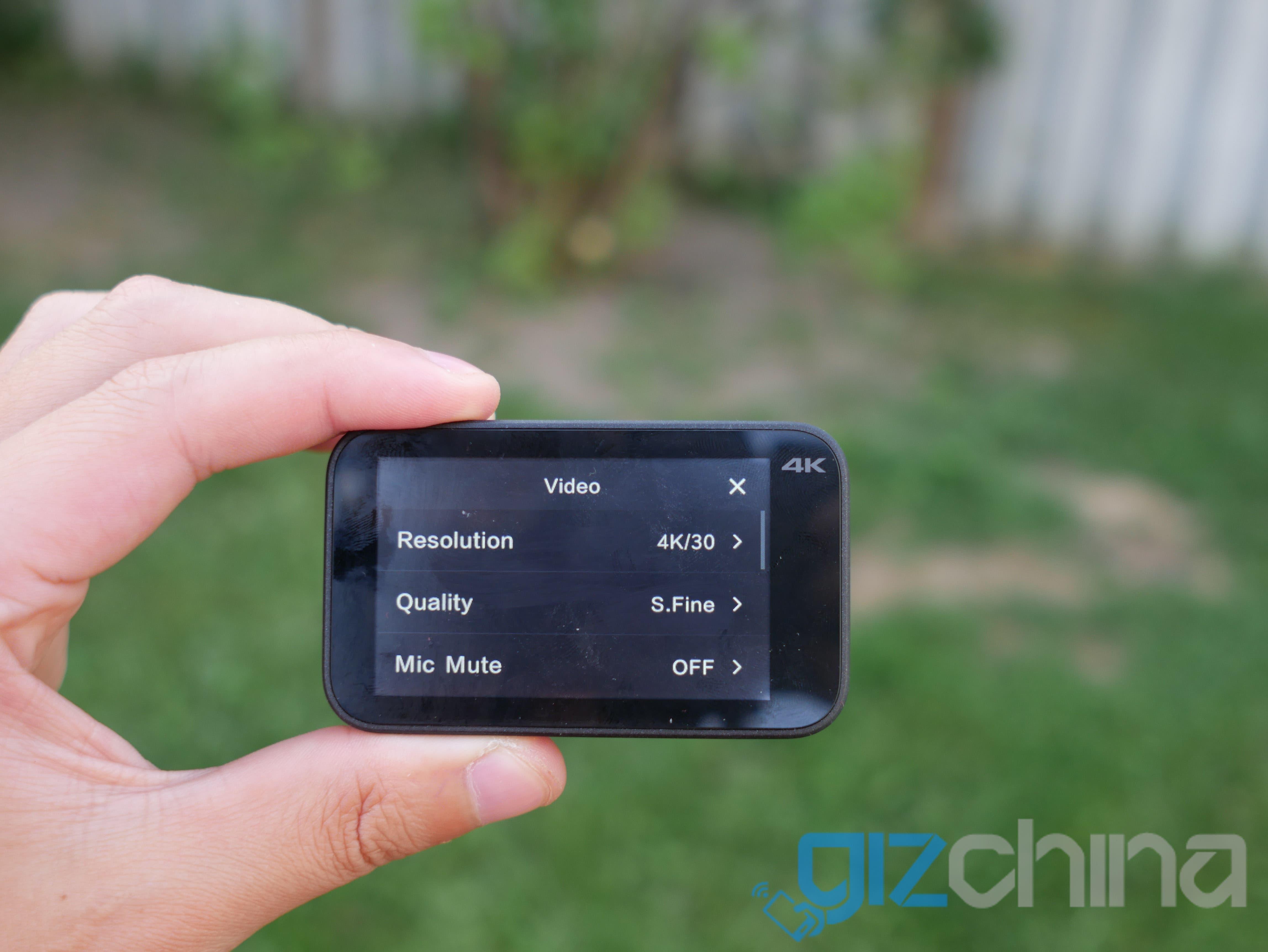 Xiaomi Mijia Action Camera Mini 4k Review Gizchina Com