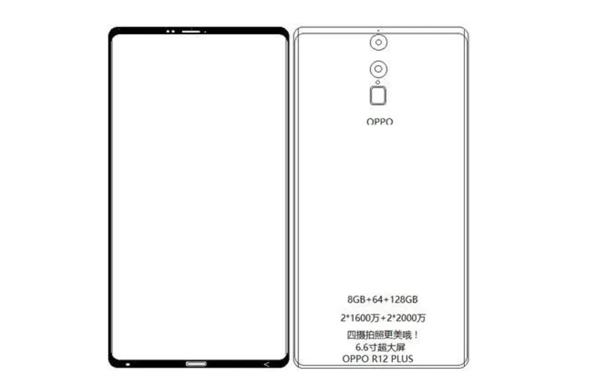 oppo working on oppo r13 with edge-to-edge display