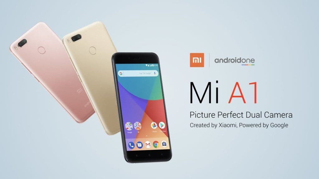 Xiaomi Mi A1 The Android One Phone By Xiaomi Is Now