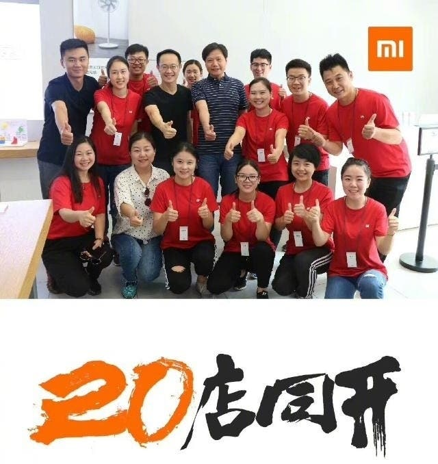 Xiaomi To Open 20 New Stores In China