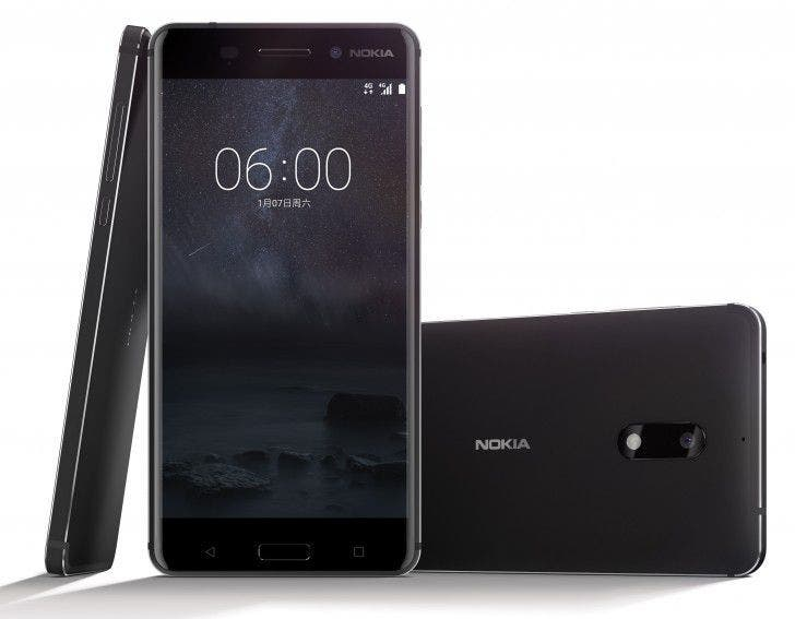 Nokia 8 with 6GB RAM and 128GB storage space