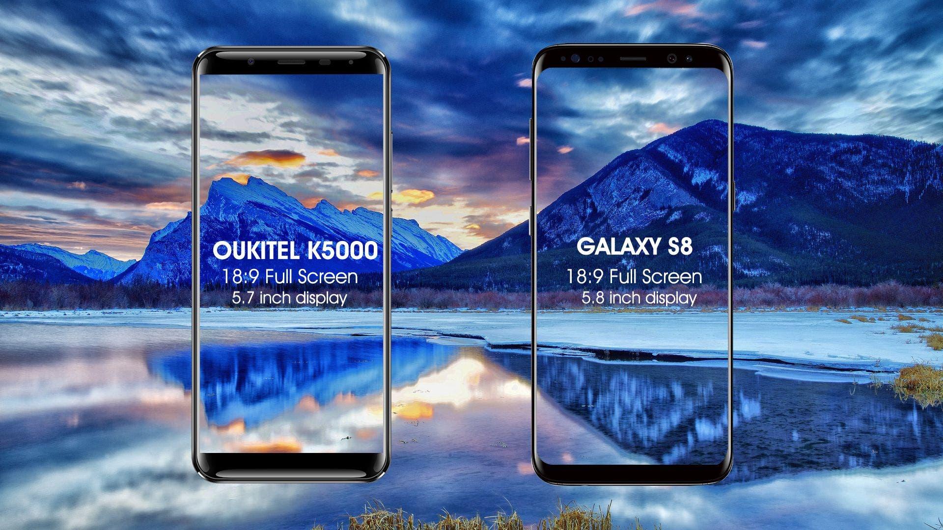 Oukitel K5000 vs Samsung S8