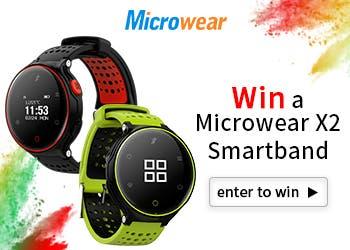 Microwear X2 giveaway