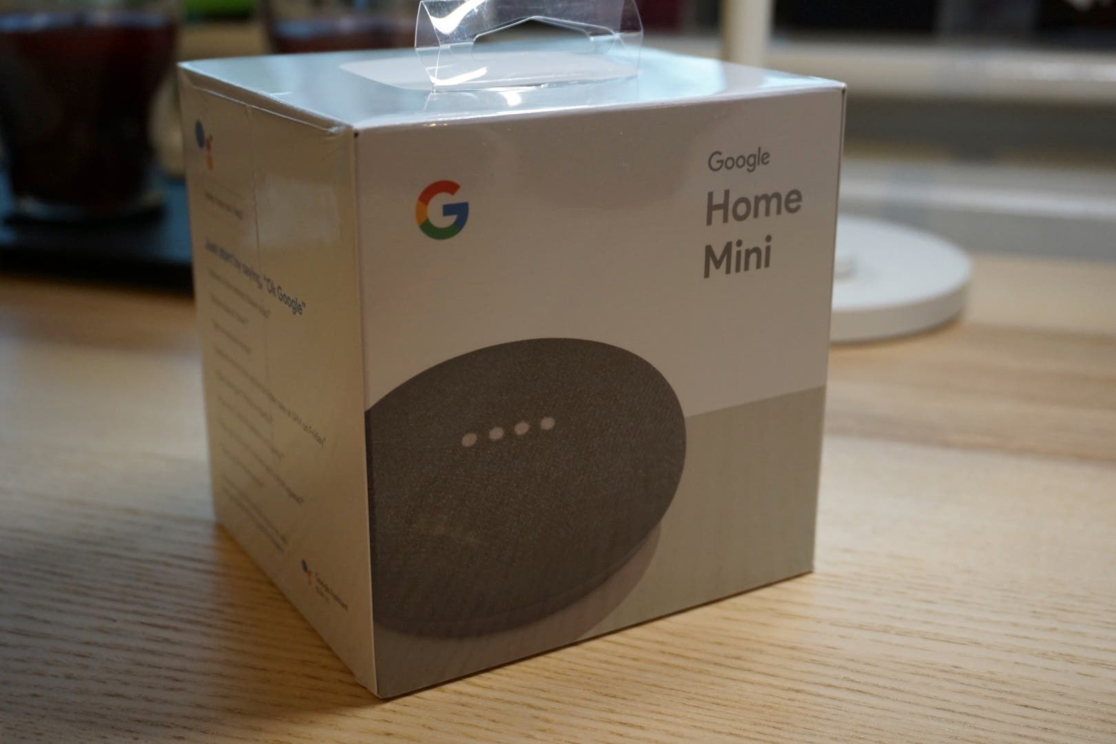 google home mini hands on