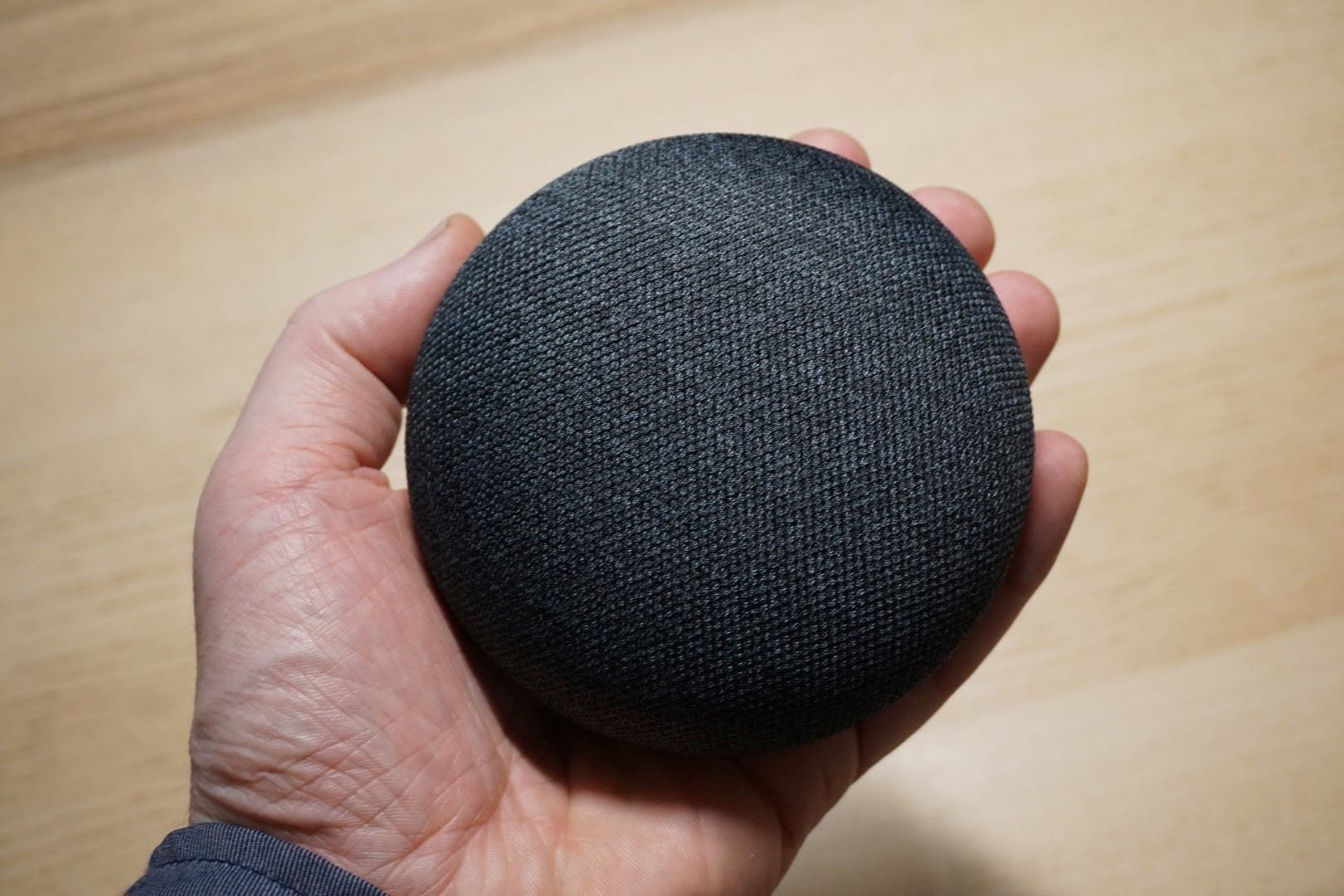 google home mini hands on