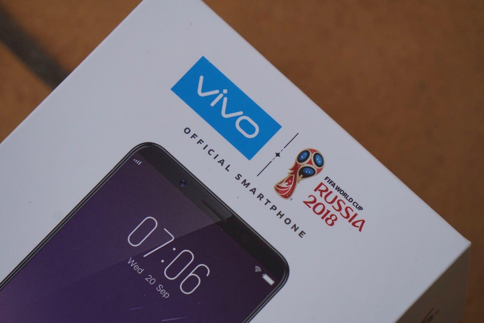 Vivo V7+ Russia 2018 Title Sponsor