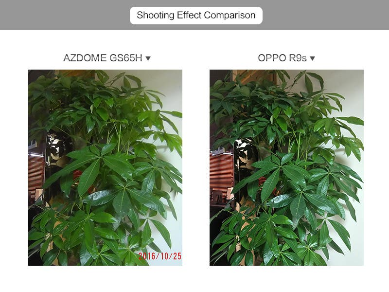 OPPO R9S vs AZDOME GS65H
