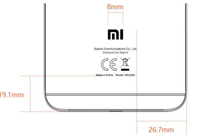 Xiaomi Redmi Note 5A prime MDG6S