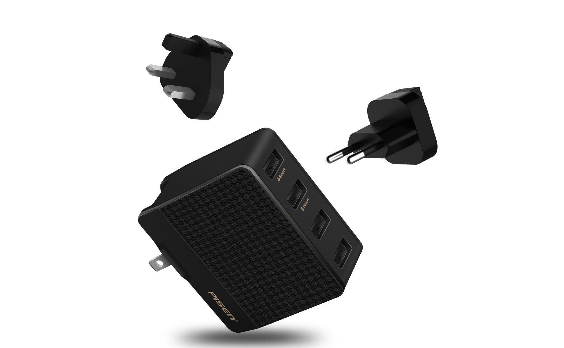 Pisen All-in-One Travel Plug Charger