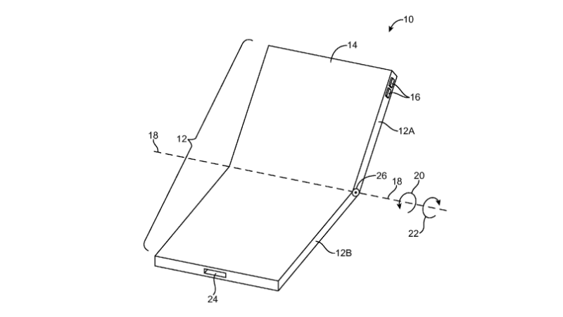 Apple Foldable display