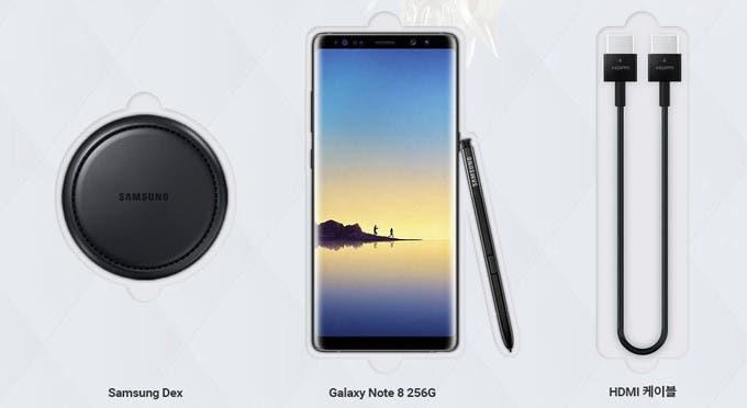 Galaxy Note 8 Lineage 2 Revolution Edition.