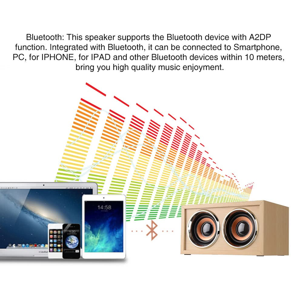 W4 Wireless Bluetooth Speaker