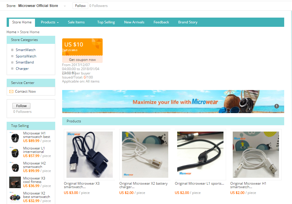 Microwear's Official AliExpress