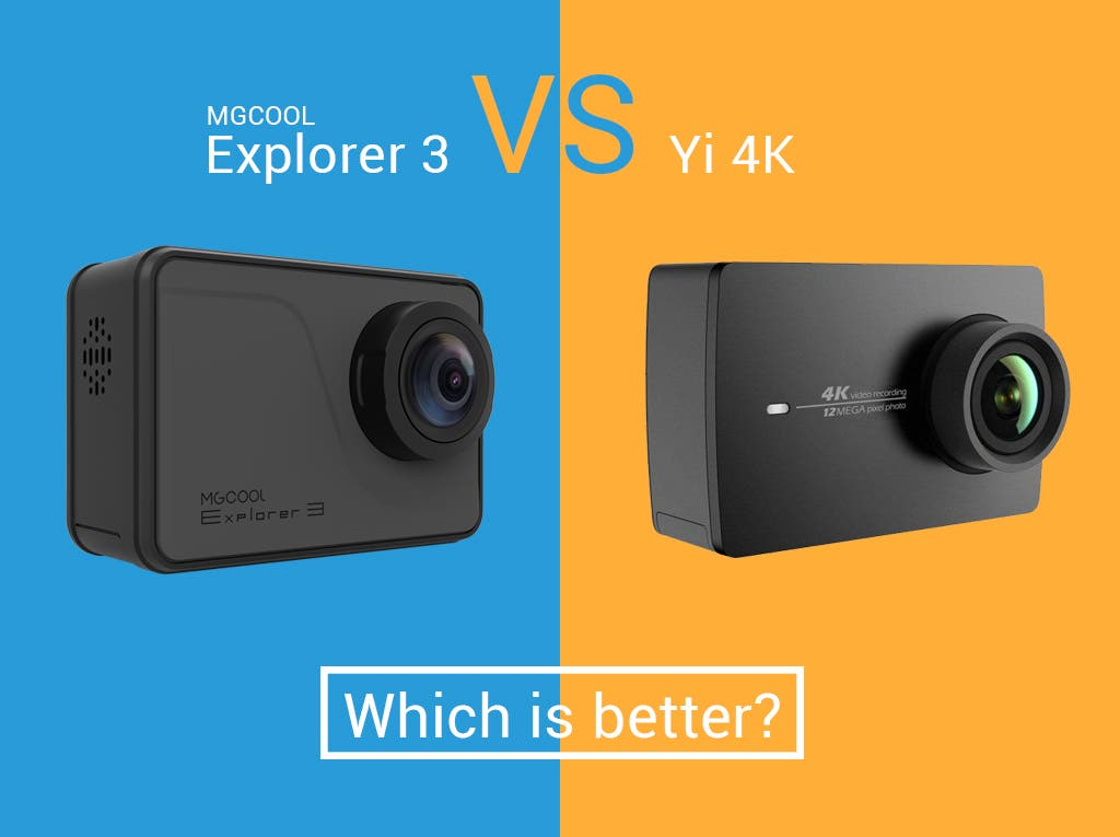 MGCOOL Explorer 3 vs Yi 4K